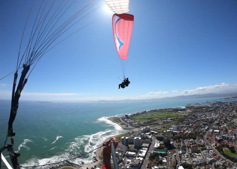 Tandem Paragliding Flight image 10