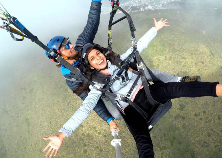 Tandem Paragliding Flight image 1