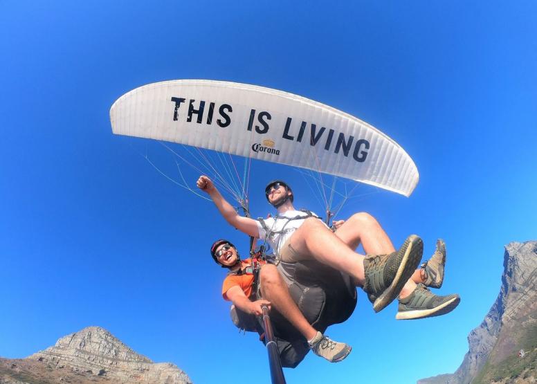 Tandem Paragliding Flight image 9