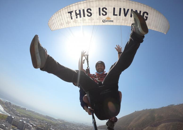 Tandem Paragliding Flight image 4