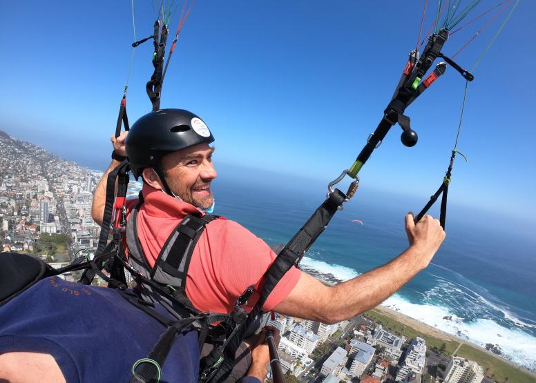 Tandem Paragliding Flight image 2