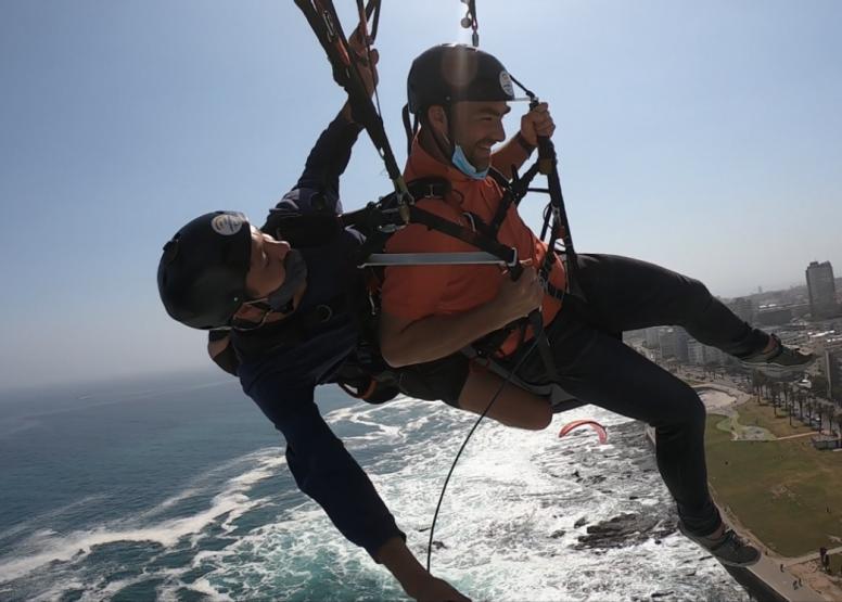 Tandem Paragliding Flight image 7