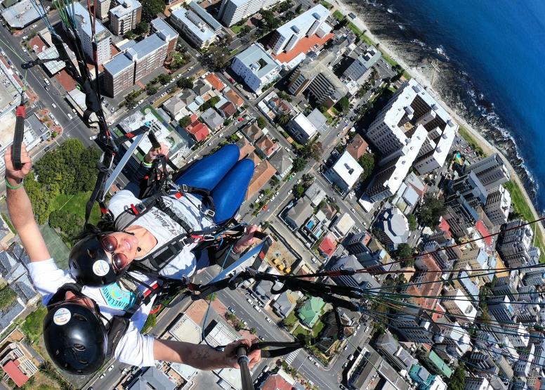Tandem Paragliding Flight image 3